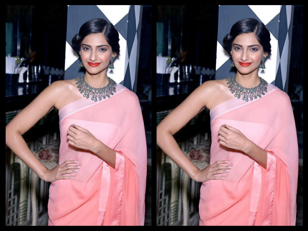 sonam kapoor in antique jewellery