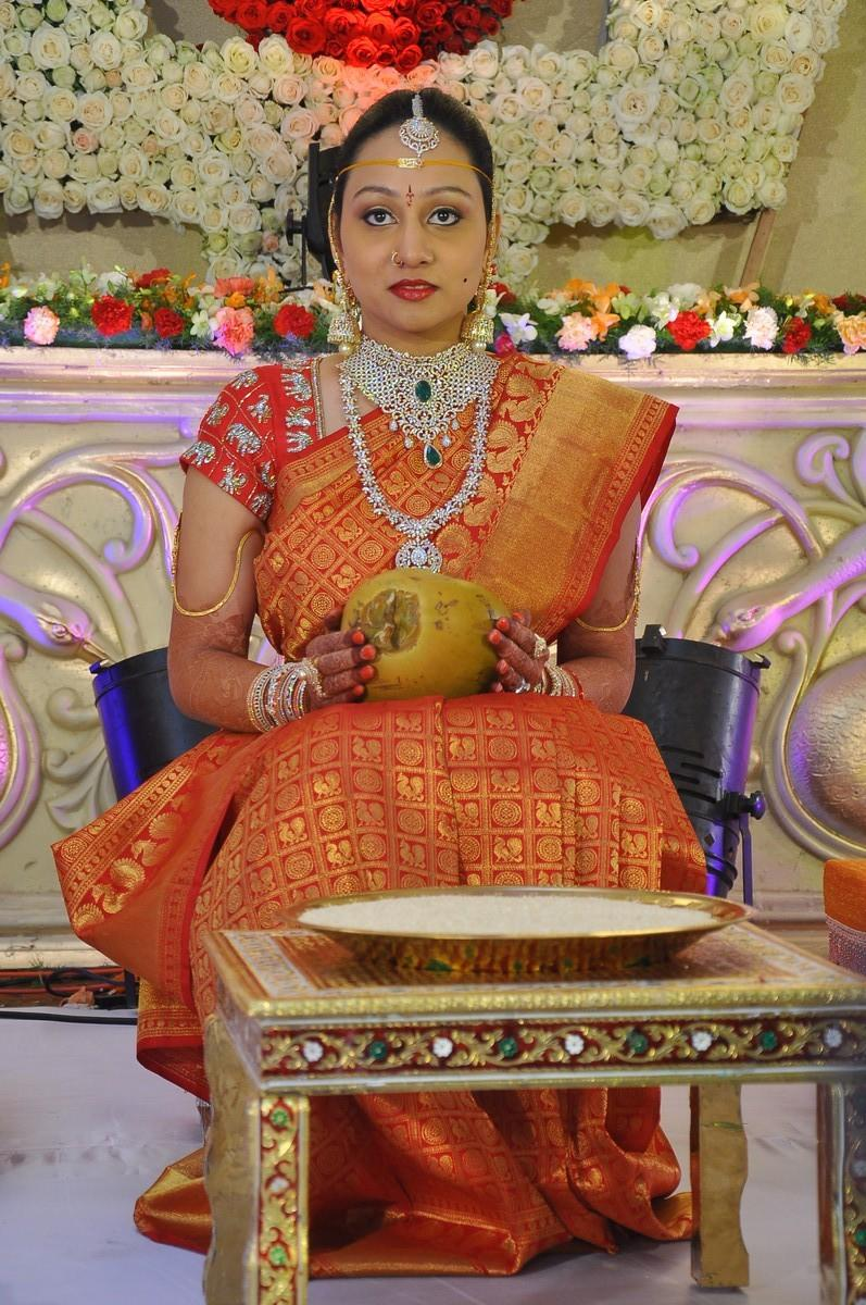 Nukarapu Suryaprakash Rao Daughter Grishma Wedding Photos