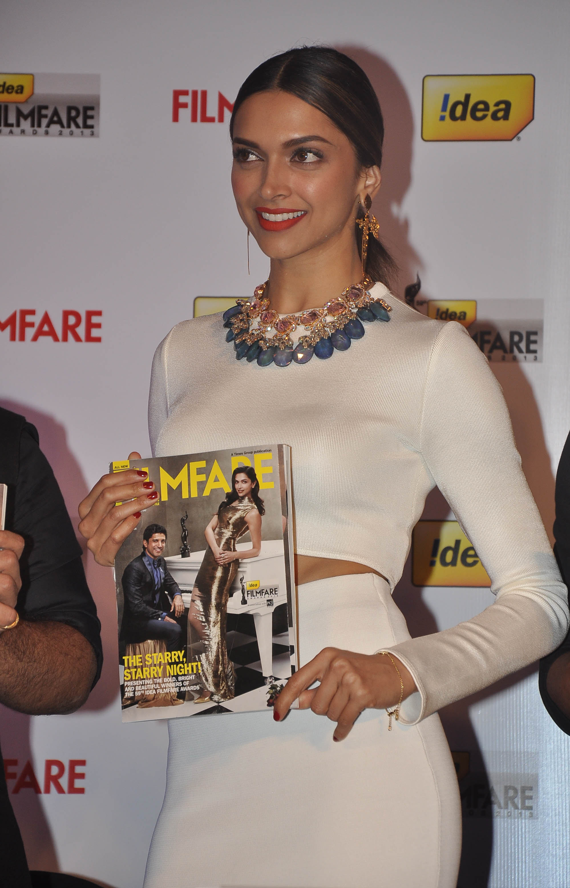 Deepika-in designer earrings