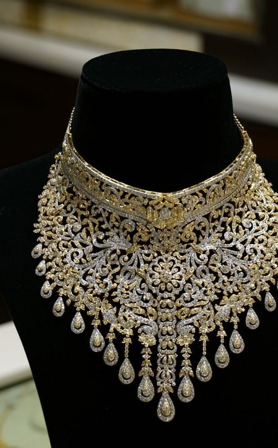 Bridal Necklace By Manepallyjewellers Boutiquedesignerjewellery Com