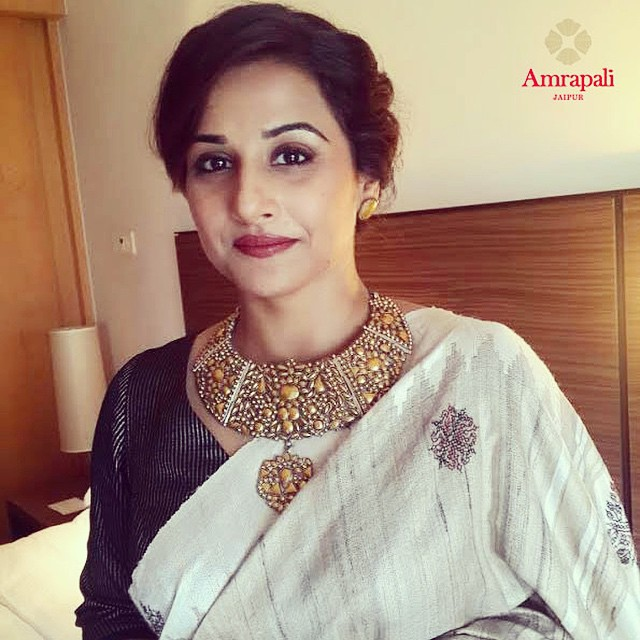 vidyabalan in amraplai jewellery