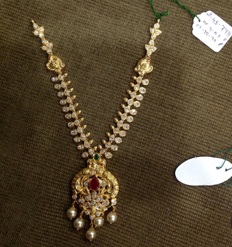 Light Weight Cz Necklace Collection