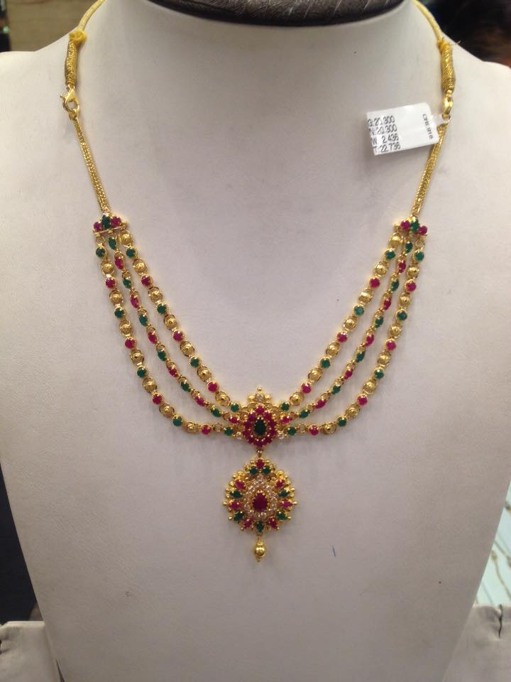 pgid pages jewellers weight pn light gadgil collections jewellery gold matte necklace weighted