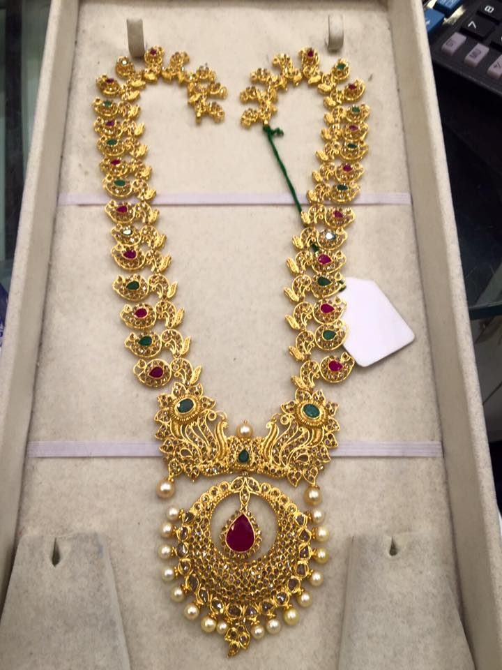 necklace gold jewellery bridal designs