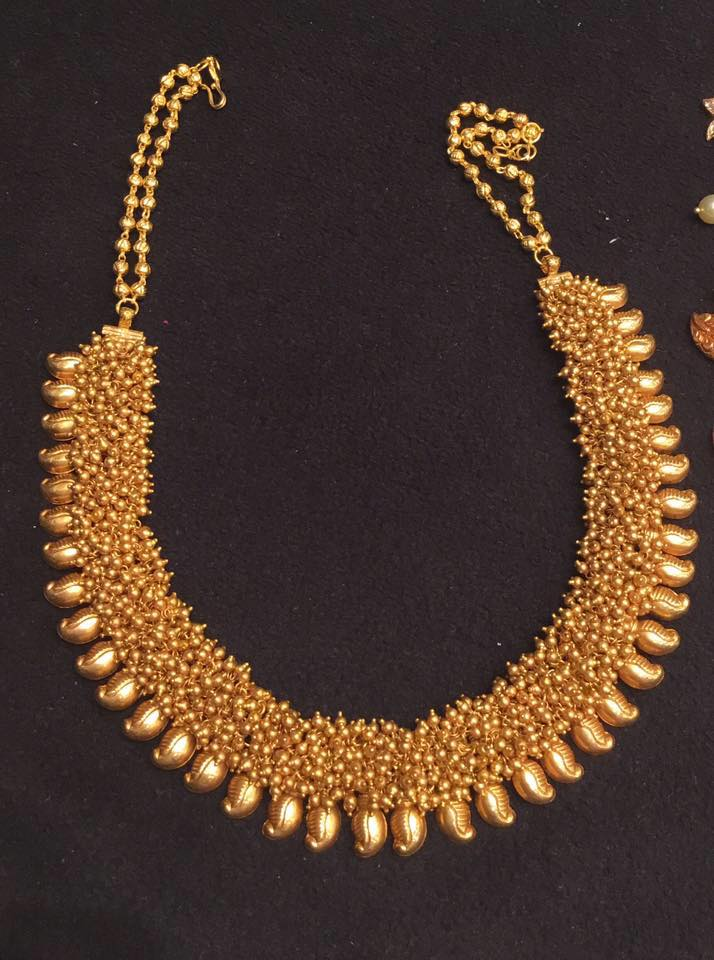 short mangi necklace