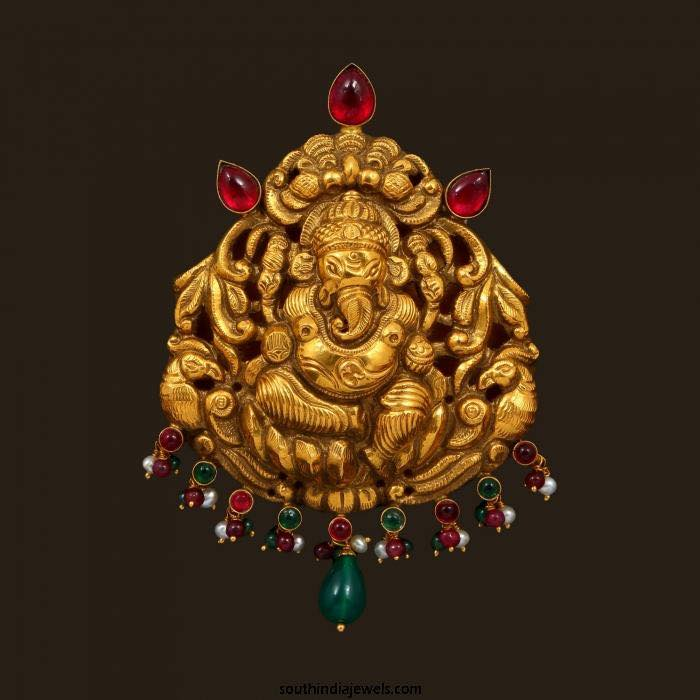 Ganesh Pendant Collection Boutiquedesignerjewellery Com