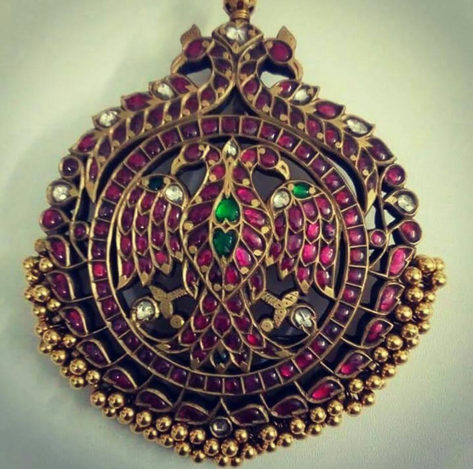 antique ruby pendants