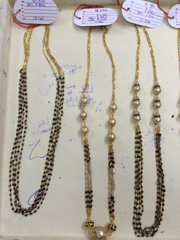 jewellery designs gallery chains beads simple
