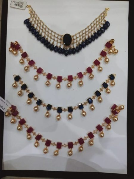 6c4cedca259d54 10-12 gms light weight beads chains – boutiquedesignerjewellery.com