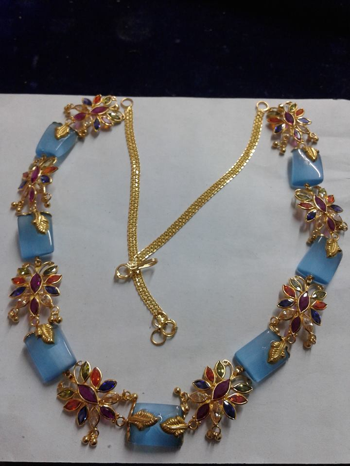 Light Weight Fancy Beads Necklaces
