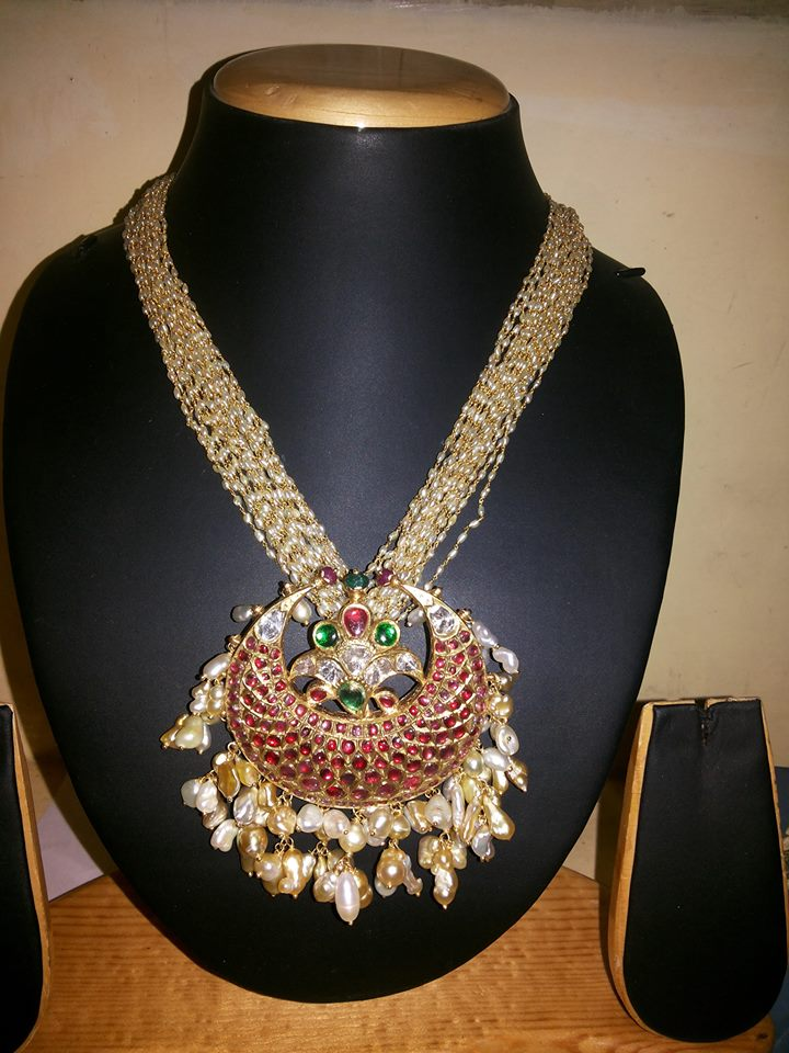 Pearl Chain Boutiquedesignerjewellery Com