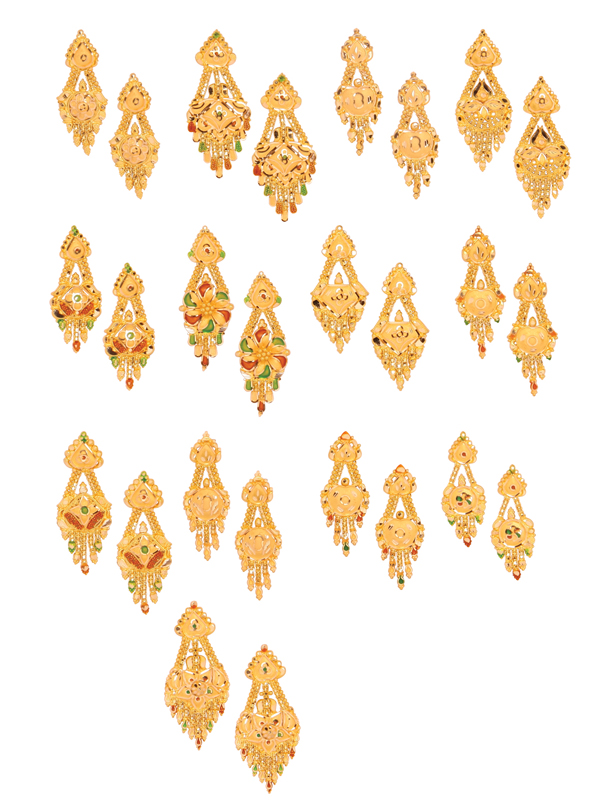 gold earrings latest designs – boutiquedesignerjewellery